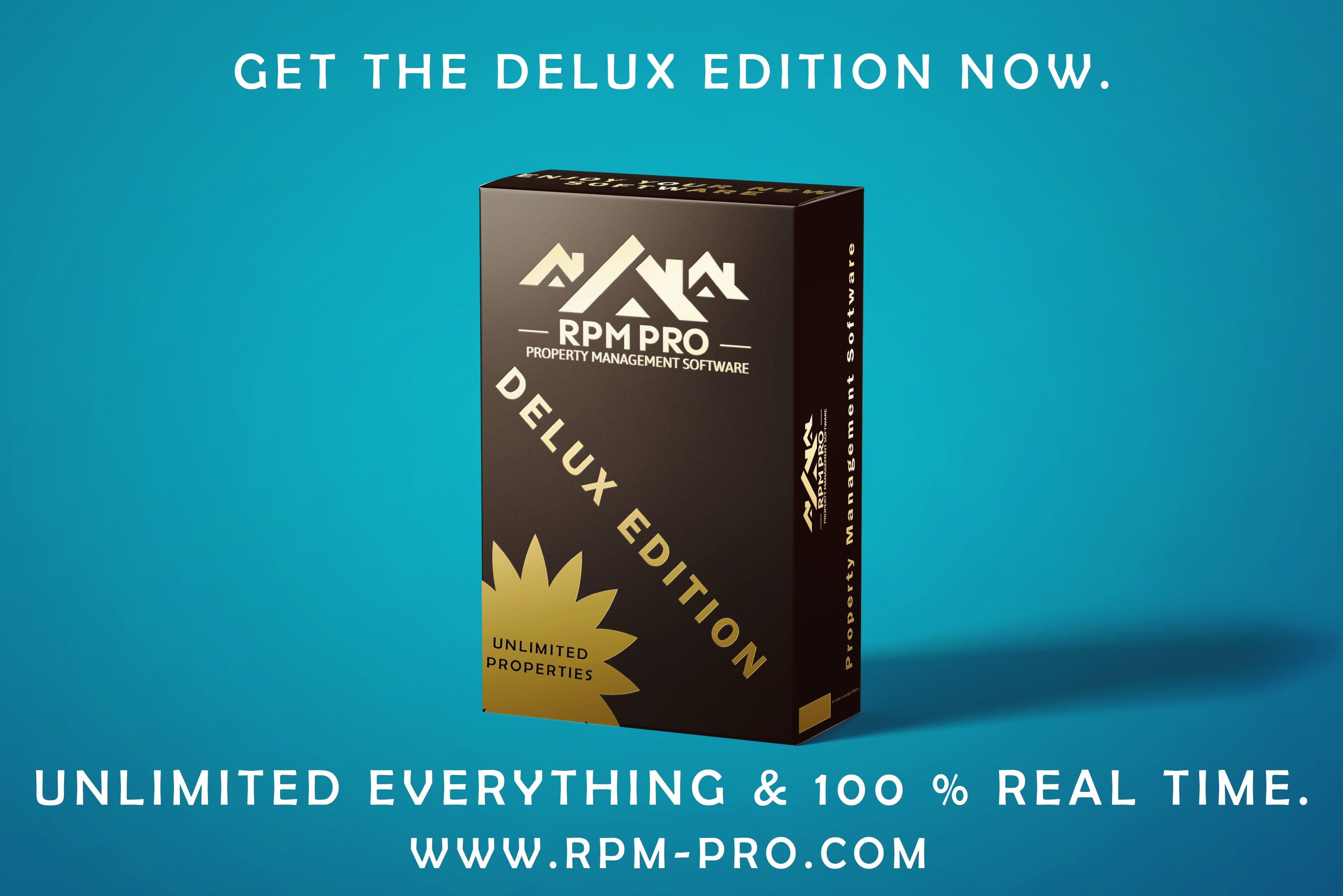 RPM Pro Delux Box Image